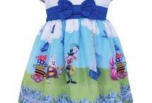 Vestido Personagem Infantil