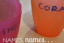 Preschool-Names / by Jessica Sullivan