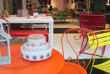 #Fermob showroom in Paris / We took pictures when we went to Paris and visited the Fermob shop