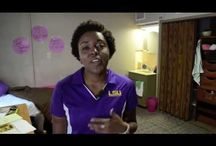 Tour Our Rooms! / Here you can find video tours of our residence halls on campus! / by LSU Residential Life