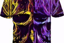 Dead Men Tell No Tales - Pirate Brother Collection.. Gold & Purple.