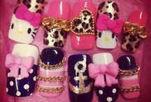 hello kitty nails by nded / hello kitty nails by nded