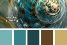 Color inspiration / Beautifull color ideas for polymer clay or other art.