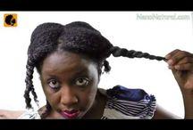 Trimming Natural Hair