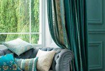 curtain sofa