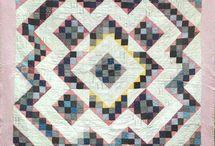 Split Nine patch quilts