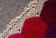 Crochetted hexagonals