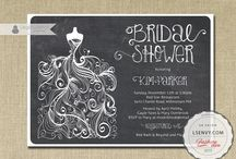 Wedding Invitations and Bridal Stationary / Wedding invites, save the dates, party invitations and other wedding stationery
