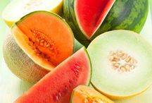 Mad for Melons / Cool off from the heat with a refreshing melon treat.