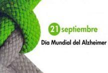 Día mundial del alzheimer. 21 de septiembre.