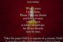 Spell for what you desire