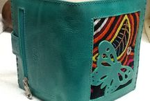 Leather purses from Colombia