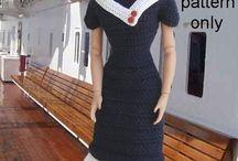 fantasia/uniforme de croche pra barbie