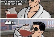 Archer / Archer, greatest secret agent in the world