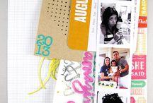 Craft - Project Life (ideas)