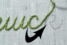 Embroidery techs & ideas