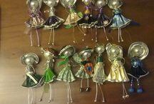 Muñecas de cápsulas de cafe