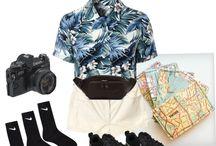 Tacky tourist outfits