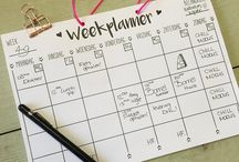 Weekplanner ideeën