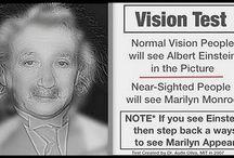 Strange illusions