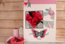 Scrapbooking layouts, albums and journals