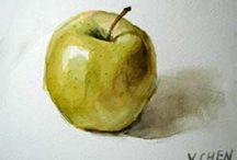 Watercolour lessons