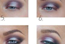 make up (eyes)