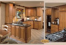 Warmth of a Home - Showplace Cabinets / Hamilton Door Style