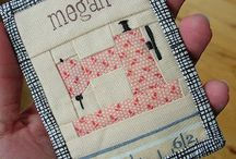 Mini Quilts & Quilt Projects / Quilts can be small too!