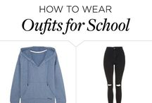 Back to school hair & outfit ideas
