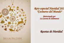 """Reto Especial de Navidad de """"Cocineros del Mundo"""" / Diciembre... este reto queremos que sea especial. Celebrar la Navidad."""