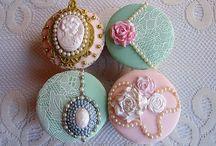 Cupcakes Vintages