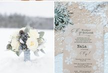 Winter Wedding Inspiration / Inspiration for a winter wedding.