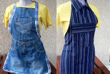 Denim upcycling - farmer újrahasznosítás / Recycle denim jeans. Farmerből bámit.