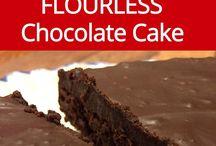 flour less chocolate cake
