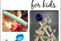 STEM Activities / STEM / STEAM Activities and Ideas for young kids (preschool, kindergarten, first grade).