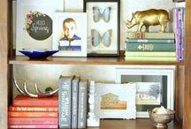 SHELVES + STYLING / home
