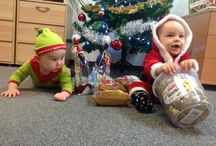 Visit of Saint Nicholas and Elf / Our company visited two new members of BizWebs with their mammies and with them came first sweet gifts :-)