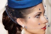 Svatba - kloboučky a závoje