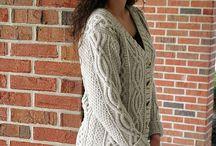 Swetry plecione