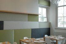 Inspirerende werkplekken / openbare ruimtes. / by Combo Design