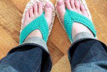 Papučky, boty