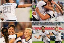 US Women's Soccer / by Chunky Monkey