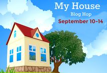 Welcome To My House Blog Hop / Sewing and quilting projects with a house or home on it