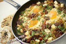 Σουτζουκι με αυγά