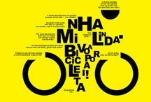 BICI.POSTER.GRAFICA / Disegni e illustrazioni con il soggetto bicicletta