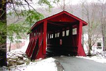 American covered bridge