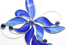 tiffany / Works in Tiffany stained-glass window