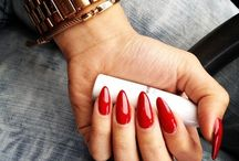 Red Nails / Celebrating the classic red nail! Be inspired by red nail polish looks from both past and present, in Niyot Beauty's most popular nail color.