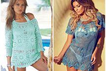 crochet beach wear